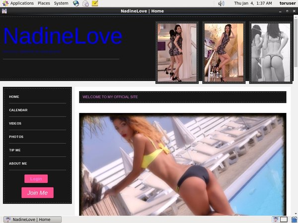 Free NadineLove Discount Deal