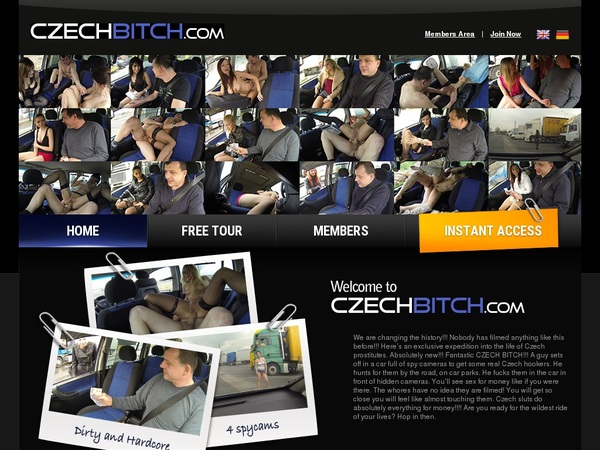 Czechbitch.com Free Account Login