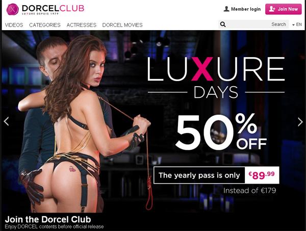 Dorcelclub.com Account Password