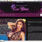 Eva Bluee Password