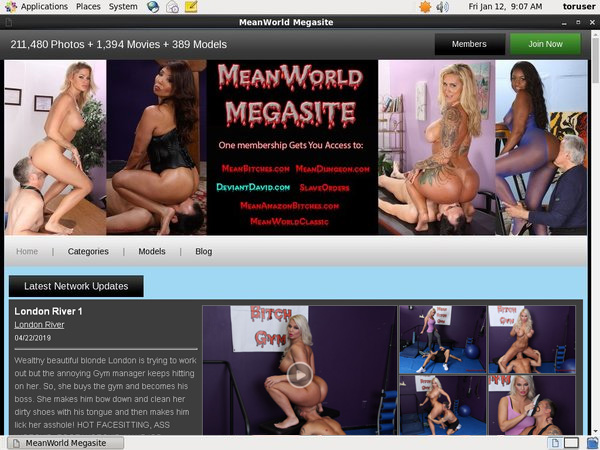 Meanworld With IBAN / BIC Code