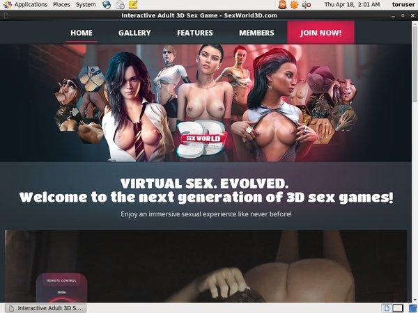 Sex World 3D With EUDebit