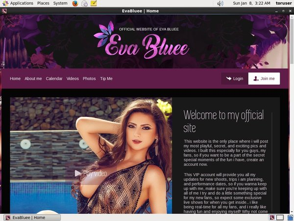 Offer Eva Bluee