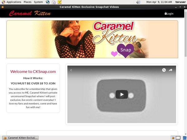 Sign Up For Caramel Kitten