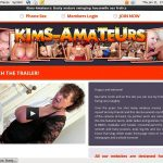 Kims-amateurs.com Username Password