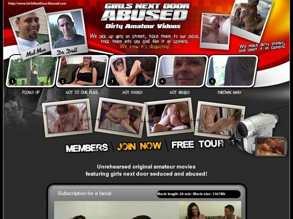 $1 Girlsnextdoorabused Trial Membership