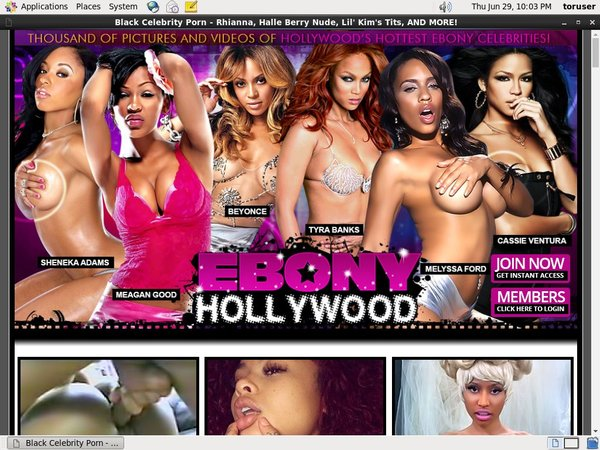 Ebonyhollywood.com Id Password
