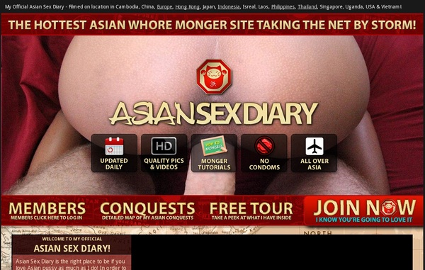 Free Asian Sex Diary Username And Pass