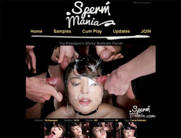 Sperm Mania Free Trial Account