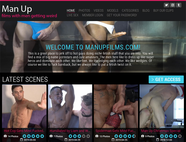 Discount Man Up Films Trial Offer