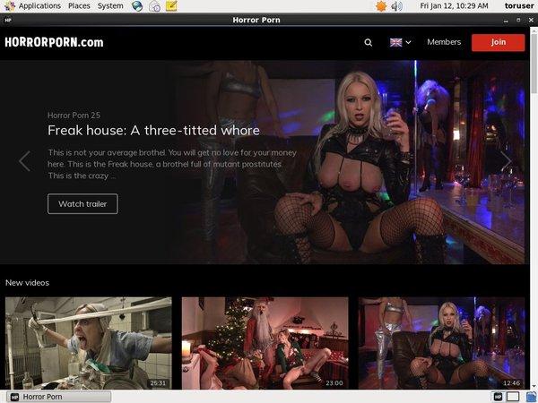 Horrorporn.com With ECheck