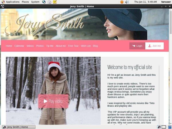 Jeny Smith Daily Pass