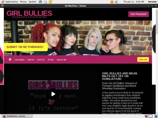GirlBullies Free Pics