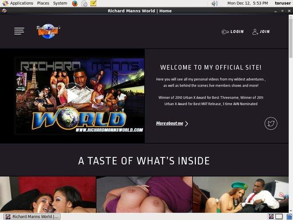 Richardmannsworldlive.com Free Site
