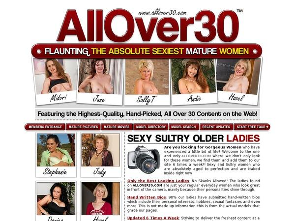Account Allover30.com