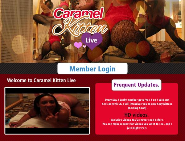 Caramelkittenlive.com Promo Id